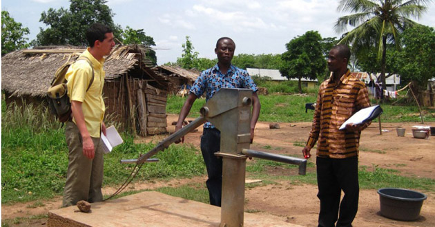 OSU and Ghanaian students' Offinso water project