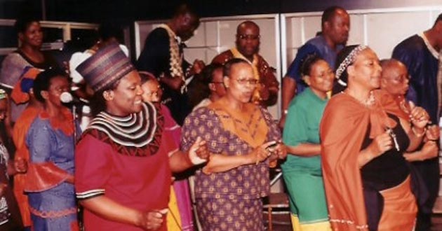 South African choir at the Hale Center